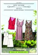 Sew House Seven Ladies Easy Sewing Pattern Mississippi Avenue Dress & Top