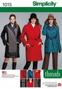 Simplicity Ladies Sewing Pattern 1015 Coats & Jackets