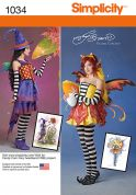 Simplicity Ladies Sewing Pattern 1034 Fancy Dress Costumes