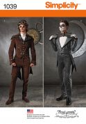 Simplicity Mens Sewing Pattern 1039 Fancy Dress Costumes