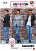 Simplicity Ladies Sewing Pattern 1066 Jackets & Belt