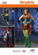 Simplicity Ladies Sewing Pattern 1091 Fancy Dress Costumes
