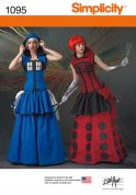 Simplicity Ladies Sewing Pattern 1095 Fancy Dress Costumes