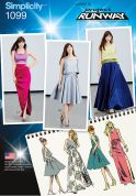 Simplicity Ladies Sewing Pattern 1099 Glamorous Skirts & Tops