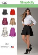 Simplicity Ladies Easy Sewing Pattern 1282 Skirts in 6 Styles