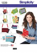 Simplicity Accessories Easy Sewing Pattern 1339 Notepad Covers & Accessories