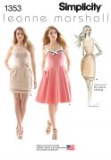 Simplicity Ladies Sewing Pattern 1353 Summer Dresses