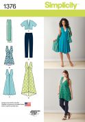 Simplicity Ladies Sewing Pattern 1376 Capsule Summer Wardrobe