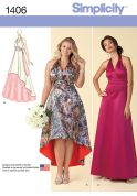 Simplicity Ladies Sewing Pattern 1406 Special Occasion Evening Dresses