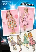 Simplicity Childrens Sewing Pattern 1433 Summer Dresses