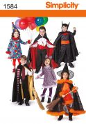 Simplicity Childrens Sewing Pattern 1584 Fancy Dress Costumes