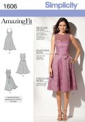 Simplicity Ladies Sewing Pattern 1606 Circular Skirt Dresses