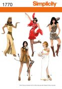 Simplicity Ladies Sewing Pattern 1770 Fancy Dress Costumes