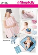 Simplicity Baby Easy Sewing Pattern 2165 Bunting, Doll & Baby Accessories