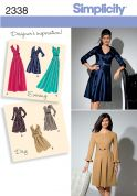 Simplicity Ladies Sewing Pattern 2338 Day & Evening Dresses