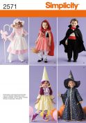 Simplicity Childrens Sewing Pattern 2571 Fancy Dress Costumes