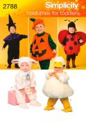 Simplicity Childrens Sewing Pattern 2788 Halloween & Fancy Dress Costumes
