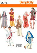 Simplicity Childrens Easy Sewing Pattern 2976 Historical & Nativity Costumes