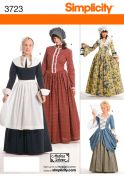 Simplicity Ladies Sewing Pattern 3723 Historical Fancy Dress Costumes