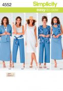 Simplicity Sewing Pattern 4552