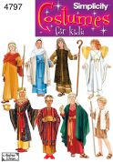Simplicity Childrens Sewing Pattern 4797 Fancy Dress Nativity Costumes