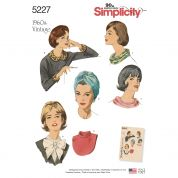 Simplicity Ladies Easy Sewing Pattern 5227 1960'sVintage Style Accessories