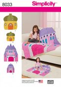 Simplicity Childrens & Dolls Sewing Pattern 8033 Mix & Match Rag Quilts