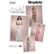 Simplicity Ladies Sewing Pattern 8164 Two Piece Special Occasion Dresses