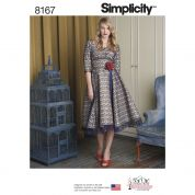 Simplicity Ladies Sewing Pattern 8167 Special Occasion Evening Dress
