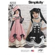 Simplicity Ladies Sewing Pattern 8233 Cosplay Costumes