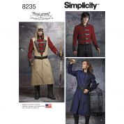 Simplicity Mens Sewing Pattern 8235 Cosplay Costume