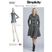 Simplicity Ladies Sewing Pattern 8262 Coat & Jacket