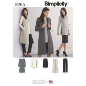 Simplicity Ladies Sewing Pattern 8265 Pants, Tops, Skirts & Dresses