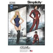 Simplicity Ladies Sewing Pattern 8286 Knit & Woven Jumpsuit & Leotard