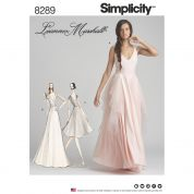 Simplicity Ladies Sewing Pattern 8289 Special Occasion Dresses