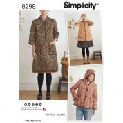 Simplicity Ladies Sewing Pattern 8298 Coats & Jackets