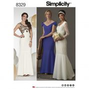 Simplicity Ladies Sewing Pattern 8329 Special Occasion Dresses