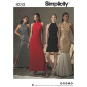Simplicity Ladies Sewing Pattern 8330 Special Occasion Dresses