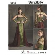 Simplicity Ladies Sewing Pattern 8363 Fantasy Ranger Costume