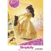 Simplicity Girls & Dolls Sewing Pattern 8405 Disney Belle Beauty & the Beast Dress