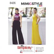 Simplicity Ladies Sewing Pattern 8426 Jumpsuits