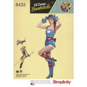 Simplicity Ladies Sewing Pattern 8433 Bombshells Stargirl Costume
