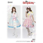 Simplicity Ladies Sewing Pattern 8444 Lolita Costume