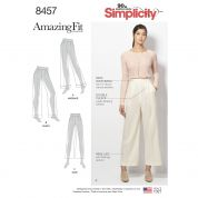 Simplicity Ladies Sewing Pattern 8457 Amazing Fit Trousers