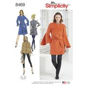 Simplicity Ladies Sewing Pattern 8468 Coats, Jacket & Waistcoat