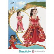 Simplicity Girls Sewing Pattern 8479 Disney Elena of Avalor Costume