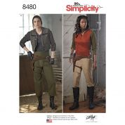 Simplicity Ladies Sewing Pattern 8480 Costume & Accessories