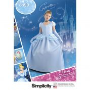 Simplicity Girls Sewing Pattern Pattern 8490 Cinderella Princess Costume