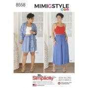 Simplicity Sewing Pattern 8558