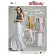 Simplicity Sewing Pattern 8597